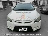 Honda Civic FD 2006 MM Style Front Bumper