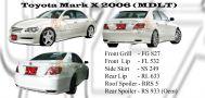 Toyota Mark X 2006 MDLT Style Bodykits