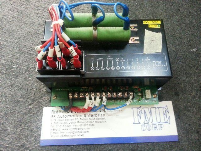 GRAIN ELECTRONIC ESD-16002 ESD-16D POWER SUPPLY CONTROLLER REPAIR MALAYSIA SINGAPORE INDONESIA