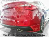 Kia K3 Rear Boot Lip Spoiler