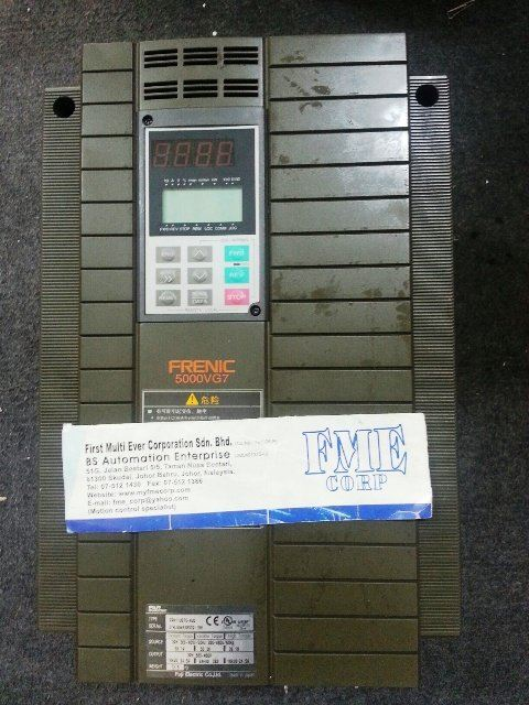 FUJI ELECTRIC FRENIC 5000VG7 FRN7.5VG7S-4 FRN11VG7S-4 FRN15VG7S-4 FRN18.5VG7S-4 MALAYSIA INDONESIA S