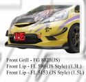 Honda Jazz 2008 JS Style Front Grill & Front Lip