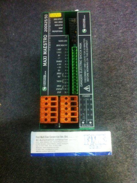 CONTROL TECHNIQUES DC SERVO DRIVE Midi-Maestro 140x8/16 140x14/28 Maxi-Maestro 200x25/50 100x25/50