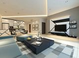 Sky Loft Condominium-Living Hall