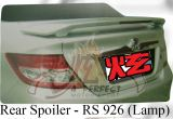 Honda City 2006 Rear Spoiler with LED