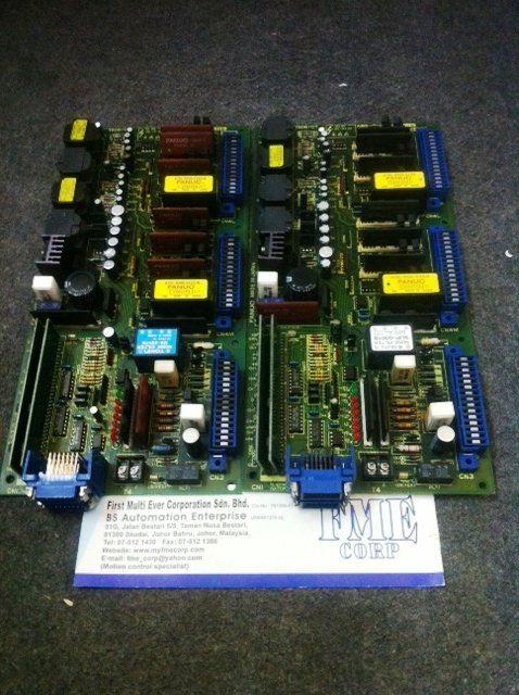 FANUC SERVO AMPLIFIER CONTROL BOARD PCB A16B-1200-0800/10B MALAYSIA JAKARTA INDONESIA SINGAPORE