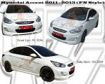Hyundai Accent 2011 - 2013 FN Style Bodykits