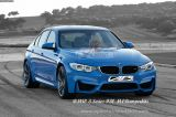 BMW 3 Series F30 M4 Bumperkits
