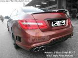 Mercedes E Class Coupe W207 WLD Style Rear Bumper