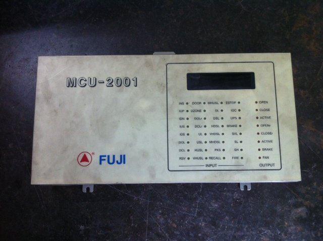 REPAIR FUJI ELEVATOR PLC CONTROLLER MCU-2001 MALAYSIA SINGAPORE INDONESIA