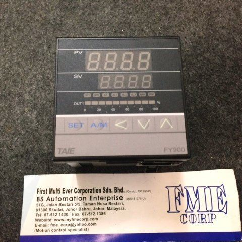 TAIE TEMPERATURE PID CONTROLLER FY400 FY700 FY800 FY900 FY600 MALAYSIA SINGAPORE INDONESIA