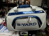 Syard Boston Bag White Blue 2015 Series