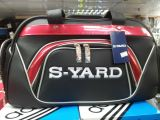 Syard Boston Bag Black Red 2015 Series