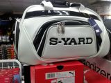 Syard Boston Bag White Black 2015 Series