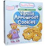 Healthy Times Organic Premium Vanilla Arrowroot Cookies (Whole Grain) (USDA Certified Organic)