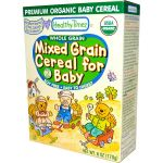 Healthy Times Organic Whole Grain Mixed Grain Cereal for Baby (USDA Certified Organic)