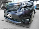 Toyota Vellfire 2009 Used Original Front Bumper For Sale