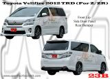 Toyota Vellfire 2012 TRD (For Z/ZR)