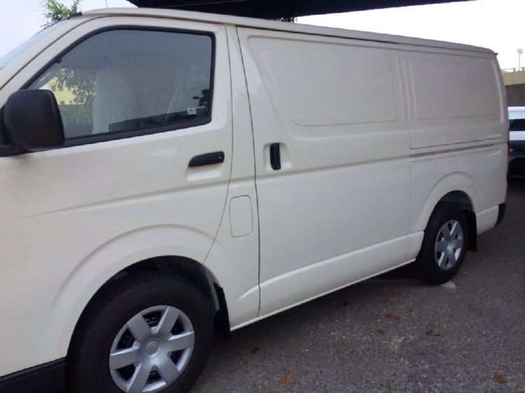 Toyota Hiace Panel Van for RM80/ hour