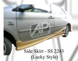 Toyota Vios 2004 Lucky Style Side Skirt