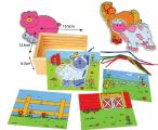 ITAT-045 Lacing Farm Animals (set of 4)