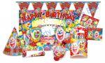 Birthday Party Set - Happy Clown