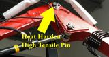 Heat Harden High Tensile 50mm-sized Pins