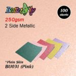 250gsm Metallic Card - Pink