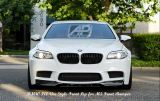 BMW 5 Series F10 VOR Style Carbon Fibre Front Lip for M5 Bumper