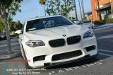 BMW 5 Series F10 HMN Style Carbon Fibre Front Lip for M5 Bumper