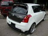 suzuki swift monster bumper rear lip