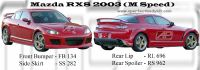 Mazda RX8 2003 M Speed Bodykits