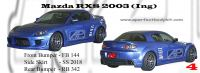 Mazda RX8 2003 Ing Bumperkits
