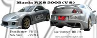 Mazda RX8 2003 VS Bumperkits