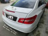 Mercedes E Class Coupe Rear Boot Lip Spoiler