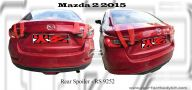 Mazda 2 2015 Rear Boot Lip Spoiler