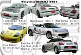 Toyota MRS Bodykits
