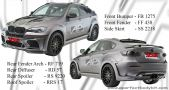 BMW X6 HMN Wide Body Bumperkits