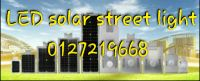 LED solar street light 10w,20w,30w,40w,50w,60w