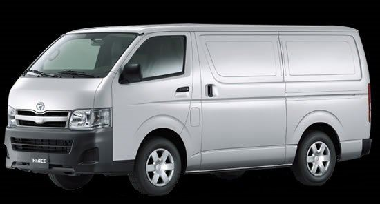 TOYOTA HIACE PANEL (COMMERCIAL) VAN