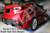 Mazda 3 2015 Knight Rear Bumper