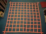 Polyester Webbing Cargo Net with Hooks