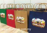 Kraft Paper Bag (with label print)