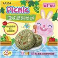 AE154 Alice Picnic Fruity Hay Cake 4pcs