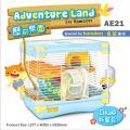 AE21 Alice Adventure Land for Hamster Blue