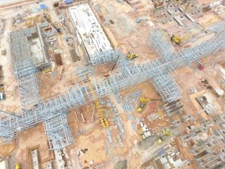 CP6 Steel Structure Erection