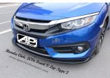 Honda Civic 2016 Front V Lip Type 2