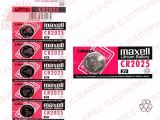 MAXELL LITHIUM COIN CELL BATTERY CR2025