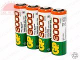 GP RECHARGEABLE BATTERY AA 1.2V 3000mAH