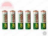GP RECHARGEABLE BATTERY AAA 1.2V 1100mAH